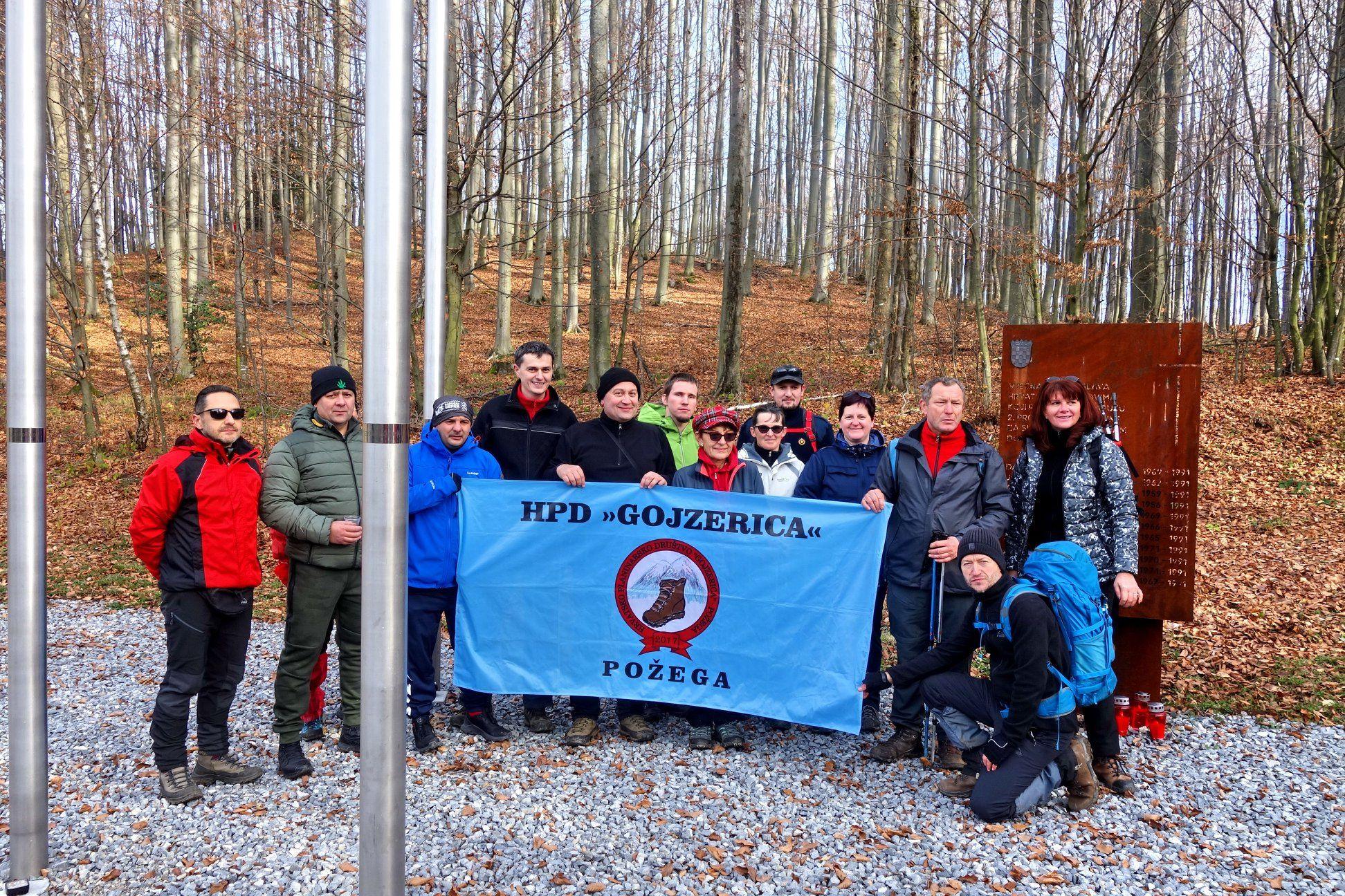 19. Memorijalni pohod na Anđinu baraku – 1.12.2019. godine
